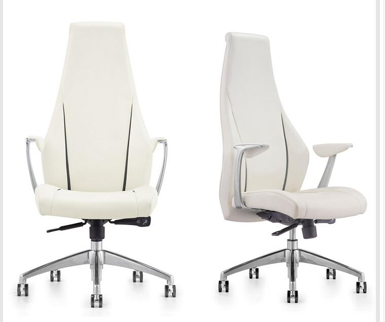 Modern Office Chair Business Conference Chair Computer Chair Fashion Boss Chair Leather Bow Chair.