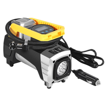 12V pompa di Aria Auto Pompa del Compressore Display Digitale Ha Condotto La Luce Auto Pompa Automatica Delle Forniture di Accessori Auto