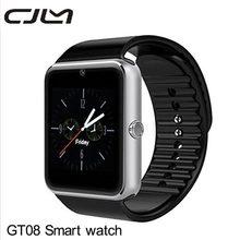 Bluetooth Smart Watch GT08 Camera Android SmartWatch MP3 Player Montre Connecte Support SIM Card Watch PK GV18 DZ09  U8
