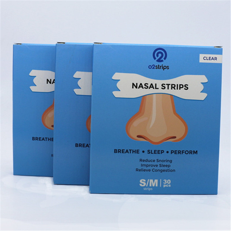 60 шт = 2 коробки лучше полоски на нос для дыхания против храпа прозрачные носовые пластыри против храпа полоски легче сна забота о здоровье