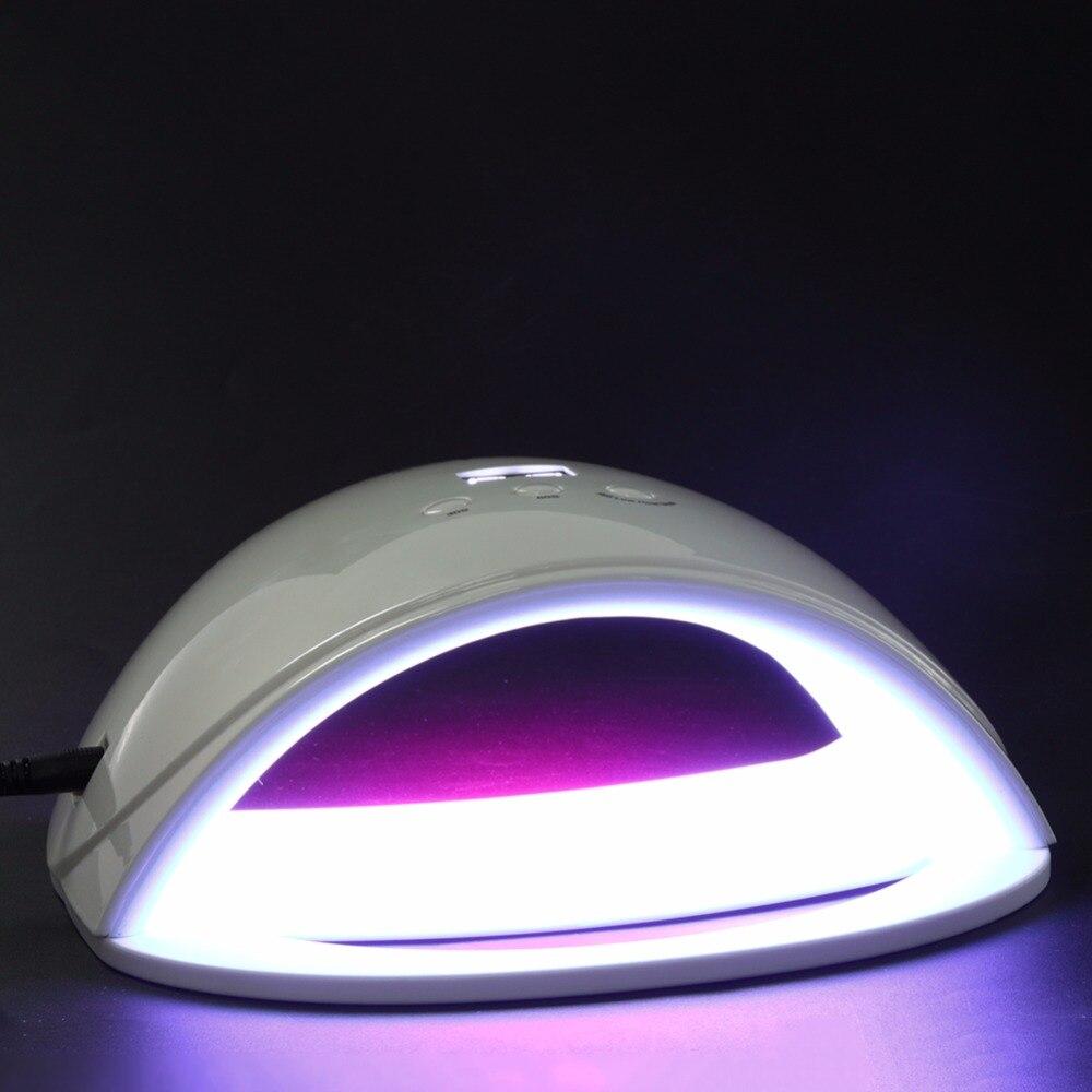 48W UV LED Lamp Nail Dryer Portable EU Plug Gel Nail Polish Dryer LED Light Nail Dryers Polish Machine for Curing Nail Art Tools