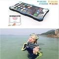 R-sólo case para iphone 6 6 s 6 plus cubierta impermeable marca case cajas del teléfono para iphone 6 s case vidrio templado película protectora