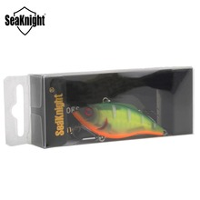 SeaKnight SK010 Fishing Lure VIB 1PC 9.5g 60mm Sinking Vibration Hard Bait Artificial Bait Anti-corrosion Hooks for Lure Fishing