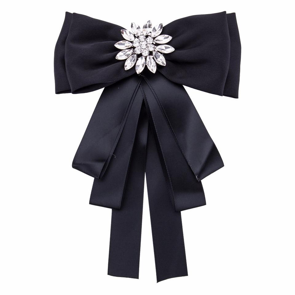 Sinnvoll Ich-remiel Mode Multilayer Übertrieben Fliege Brosche Band Bowties Frauen Anzug Hemd Kragen Dekoration Kleidung Zubehör Damen-accessoires Krawatten & Taschentücher