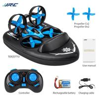 HobbyLane JJRC H36F Mini Drone TERZETTO 3 In 1 Water Ground Air Mode 3 mode Altitude Hold Headless RC Quadcopter Gift for Kids
