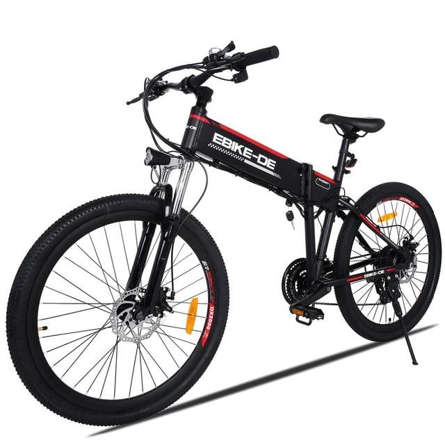 ANCHEER Новый 26 дюймовый электровелосипед велосипед 250 Вт Ebike высокая скорость Электрический горный велосипед E-Bike EU штекер унисекс Детский самокат