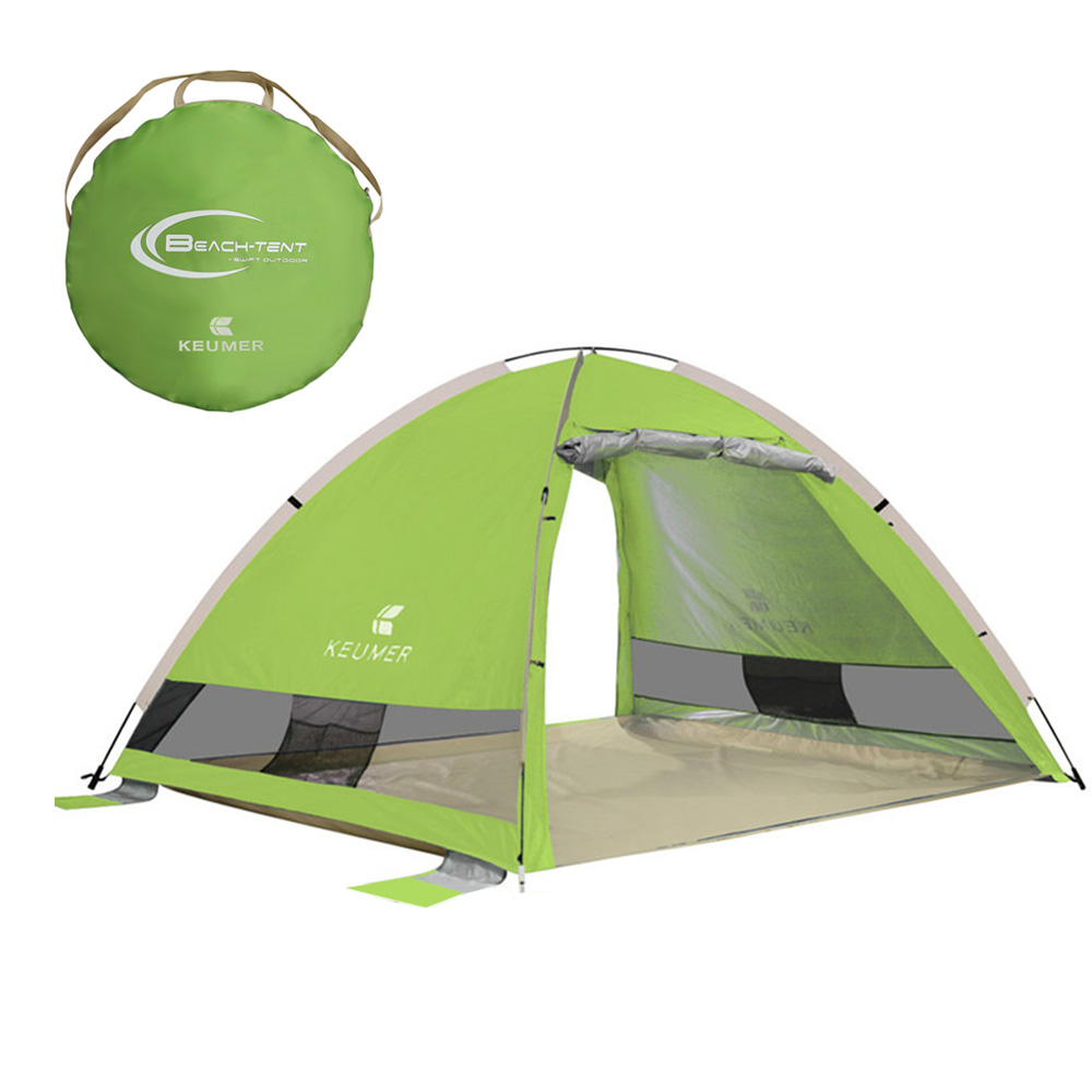 Outdoor Camping Tent Automatic Instant Pop Up Beach Tent Lightweight Outdoor Uv Protection Sun Shelter High