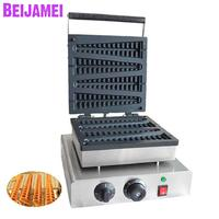 BEIJAMEI 110v 220v Christmas tree waffle stick maker commercial Non stick electric tree lolly waffle making machine|Waffle Makers| |  -