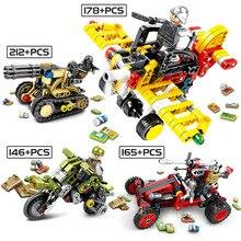 PUBG Battleground plane Game Building Blocks Soldier gun Heavy weapon Battlefield Airdrop Figures boy Toys for Children
