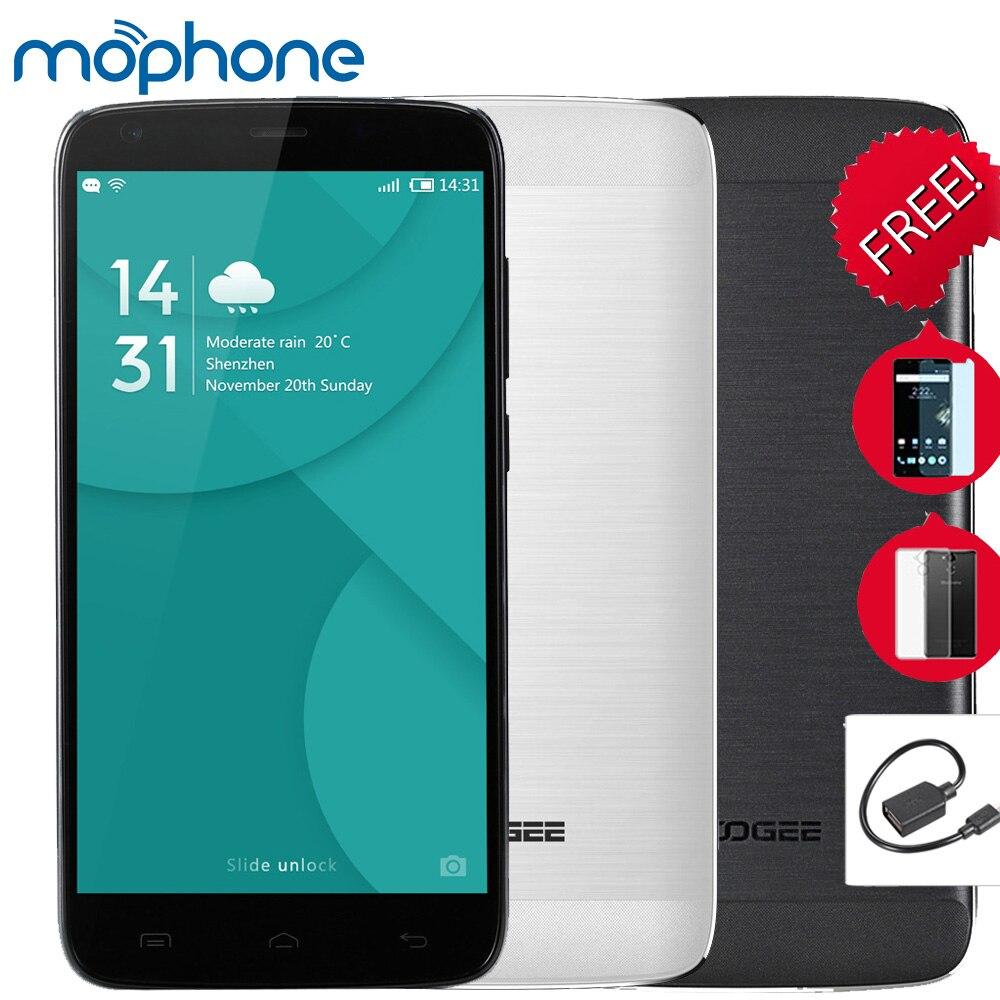 """Цена за Doogee t6 pro 6250 mah otg 4 г 5.5 """"HD Смартфон Android 6.0 MT6735 Четырехъядерных Процессоров Мобильный Телефон 3 ГБ + 32 ГБ 13MP Быстрая Зарядка Мобильного Телефона"""