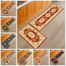 Персидский стиль Коврики для кухни ковры гостиная спальня двери Коврики Классический исследование ванная комната Нескользящие пол кофе