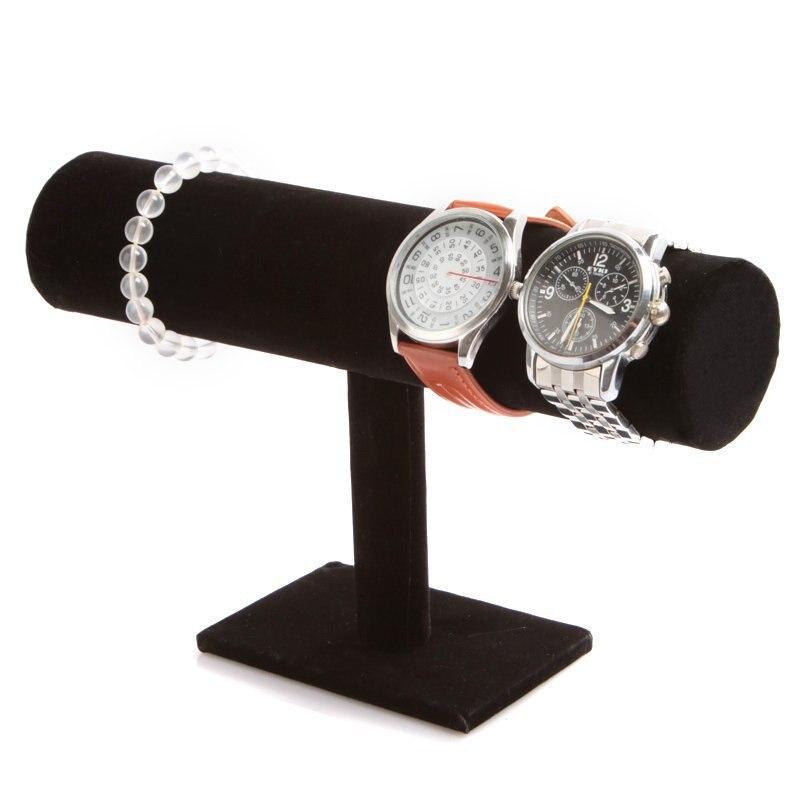 black velvet jewelry bracelet necklace display stand