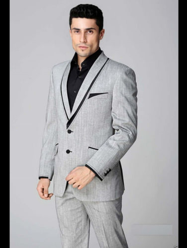 Shawl Collar Two Buttons font b Formal b font font b Men b font font b