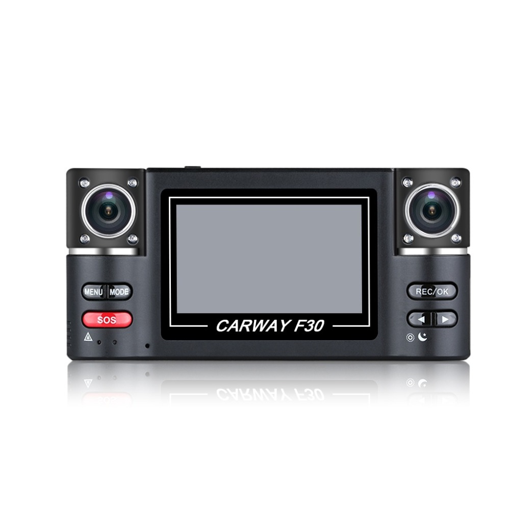 2 7 Car DVR Dual Lens Car Vehicle 1080P HD Dash Cam Car Camera Night Vision