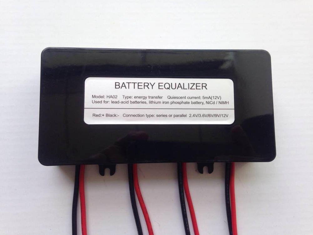 Solar Battery Backup >> Aliexpress.com : Buy battery equalizer battery balancer for 4 pieces battery connected in series ...