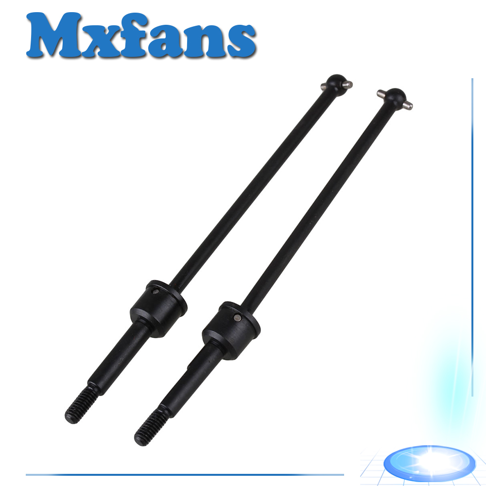 Mxfans 2 x 188015 Iron Universal Shaft Drive Joint RC 1:10 for HSP hg p401 p402 p601 rc car universal joint p10004