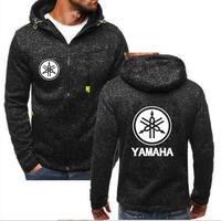Yamaha мотоциклов Толстовка Куртка-пилот Мужская осень и зима теплый жакет на молнии мужские обороты ваше сердце толстовка