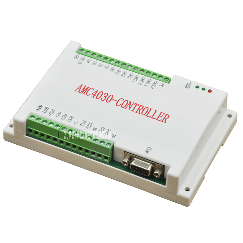 New 3-axis Motion Controller High-quality Programmable AMC4030 Stepper Motor Segmentation Motion Reciprocating Controller 24V 5W