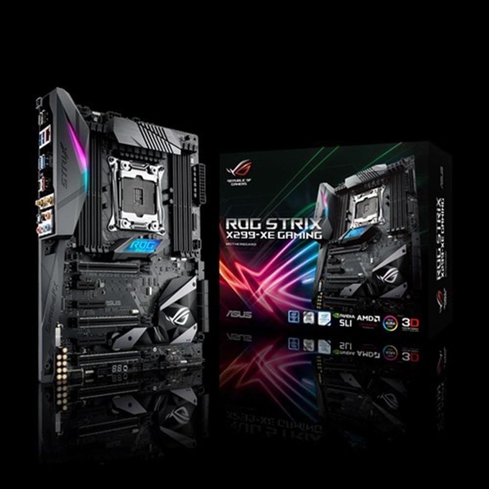 ROG STRIX X299-XE GAMING X299 ATX Motherboard 802.11ac Wi-Fi DDR4 Dual M.2 SATA 6Gbps USB3.1 Desktop Mainboard rog strix x299 xe gaming x299 atx motherboard 802 11ac wi fi ddr4 dual m 2 sata 6gbps usb3 1 desktop mainboard
