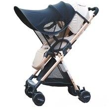 цена на Baby Stroller Sunshield Sunshade Baby Pram Canopy Cove Sun Shade Protection Hoods Canopy Buggy Pushchair Stroller Accessories