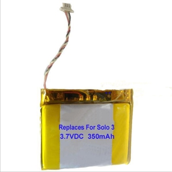10pcs/lot TTVXO 350mAh AEC353535  Battery for Beat Solo 3 Headset Battery