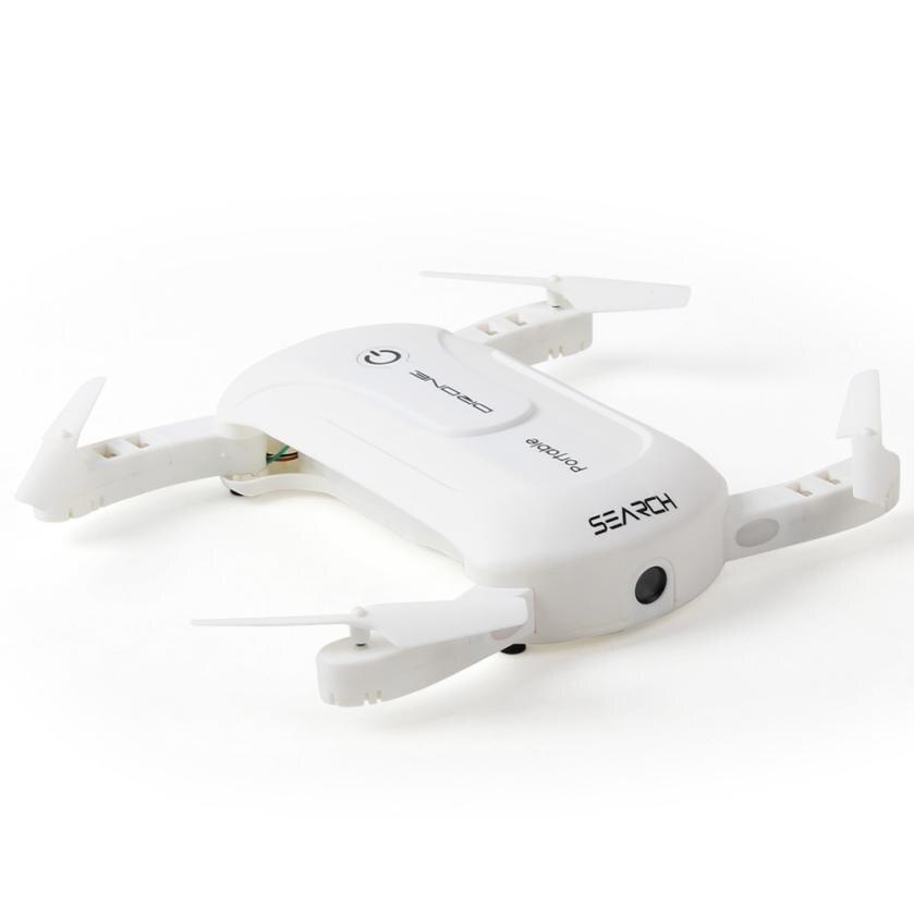 Portable Mini 2.4G 6Axis HD Camera WIFI FPV RC Quadcopter Drone Selfie Foldable Quadcopter t212