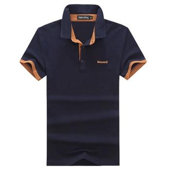 2018 nouveau été décontracté hommes Polo chemise marques mâle à manches courtes Polo coton mode Slim Fit Polo hommes maillots grande taille 5XL