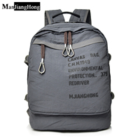 a3bba08c438 Fashion Men S Backpack Vintage Canvas Backpack Women School Bag Men S  Travel Bags Travel Backpack. US $42.39 US $25.43. Mode mannen rugzak ...
