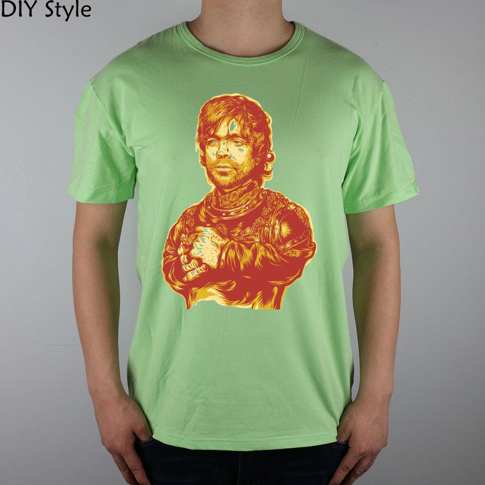 230c86752 Game of thrones Tyrion Lannister camisetas mangas curtas de alta qualidade  camiseta Marca de Moda homens