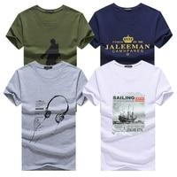 Kuyo Для мужчин S 4 шт. футболки для Для мужчин Новое поступление Для Мужчин's Футболки для женщин плюс Размеры модные летние шорты рукавом футб...