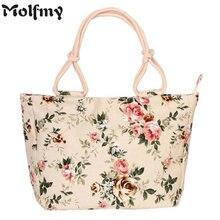 Модная Складная женская сумка большого размера, сумка-тоут, Женская Повседневная парусиновая сумка на плечо с цветочным принтом и граффити, пляжная сумка Bolsa Feminina