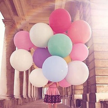 36 inch Big Round Latex Balloon. 14 Colors