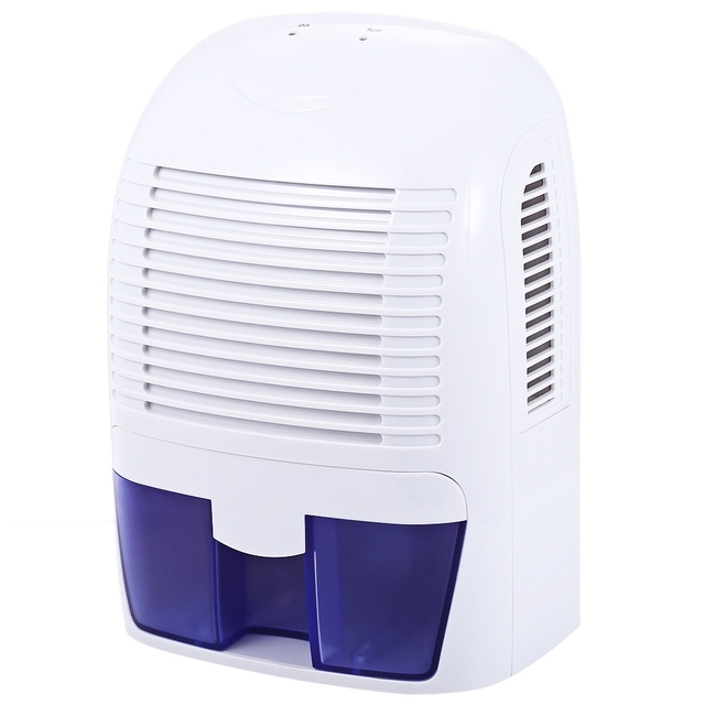 Invitop Xrow 800 Portable Dehumidifier 1500ml Household Air For Bedroom Bathroom Quiet Moisture Absorbing