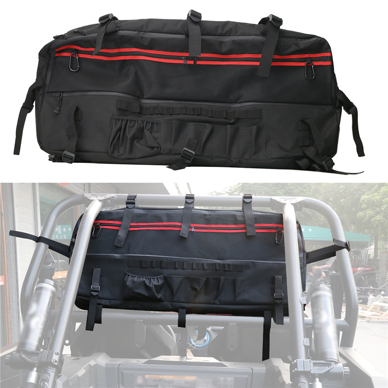 Pleasing For Polaris Rzr Ranger Jeep Jk Utv Roll Cage Large Multi Pockets Organizer Storage Bag Saddlebag Theyellowbook Wood Chair Design Ideas Theyellowbookinfo