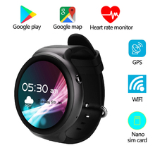 Tinymons IQI I4 Smart Watch Android5.1 1GB+16GB MTK6580 1.39″ 3G WiFi GPS HeartRate Monitor Bluetooth SmartWatch for IOS Android