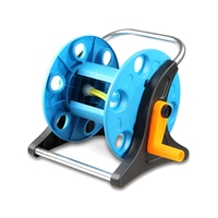1/2 Hose Reels Home Garden Mini Water Pipe Wheel Garden Flower Irrigation Tool Car Washing Device Convenient and Durable
