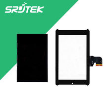 For Asus Fonepad 7 ME372CG ME372 K00E LCD Display Panel Screen Monitor + Black Touch Screen Digitizer Sensor Glass