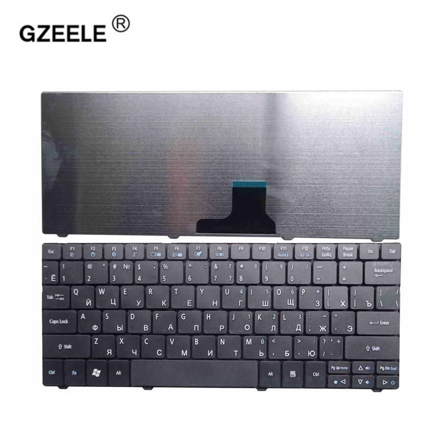 GZEELE New russian laptop Keyboard for ACER Aspire One 751 751H ZA3 ZA5 715 752 753 753H 722 721 1410 1810T 1810TZ 1830T RU