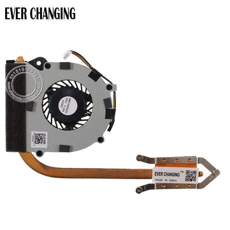Для sony Vaio E серии SVE11Laptop Вентилятор охлаждения+ радиатор 300-0001-2401_A