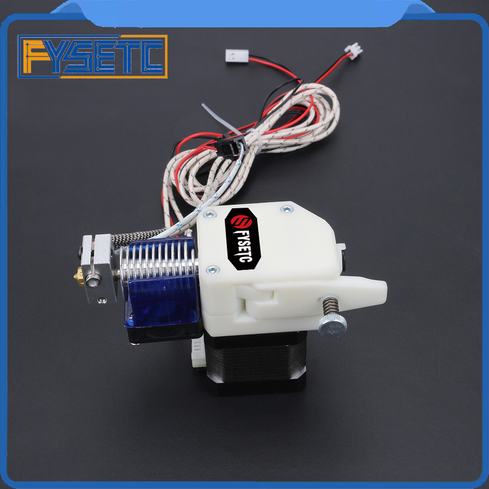 BMG EXTRUDER V6 HOTEND Bowden Extruder With PT100 Sensor Dual Drive Extruder For Wanhao D9 Creality CR10 Ender 3 Anet E10 цена