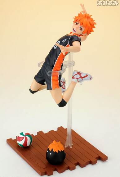 ФОТО Hot sell newest arrival anime character 5pcs Haikyuu hinata shyouyou action pvc figure toy tall 26cm in box via DHL/EMS