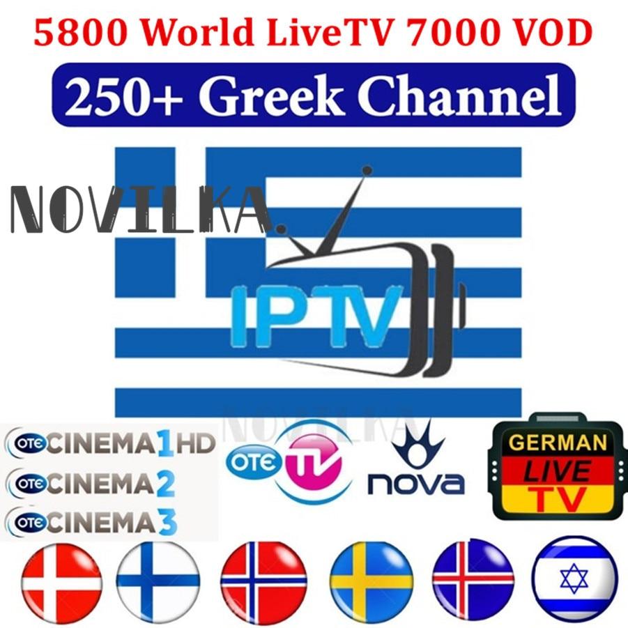 Reseller Panel Europe IPTV GREEK IPTV UK France Africa 5800 Channels 8000 VOD 450 SER English