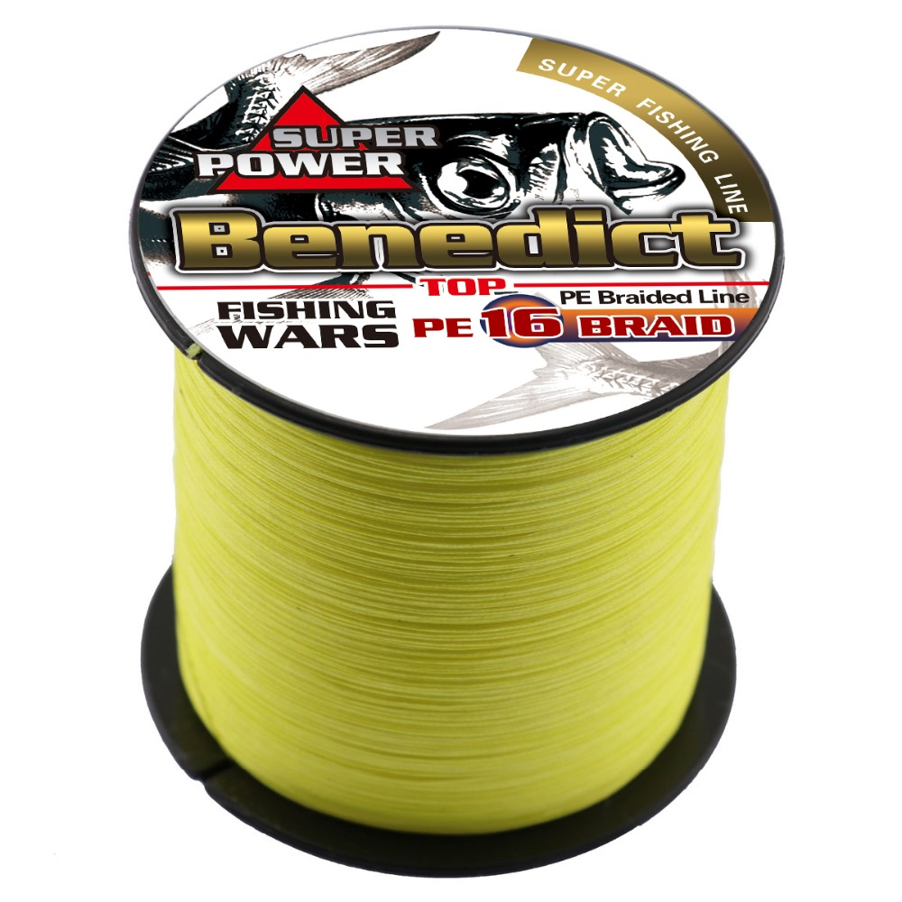 super hollowcore sea fishing line 300M/328yards 16strands strong braided wires rope 0.16mm-0.55mm line cords pe line 20-100LB