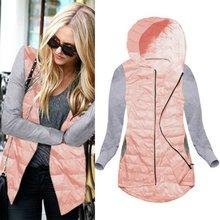 Стеганая одежда женские зимние теплые куртка с капюшоном хлопок пальто куртки тонкий парка дамы пальто Верхняя одежда 7993 LM93