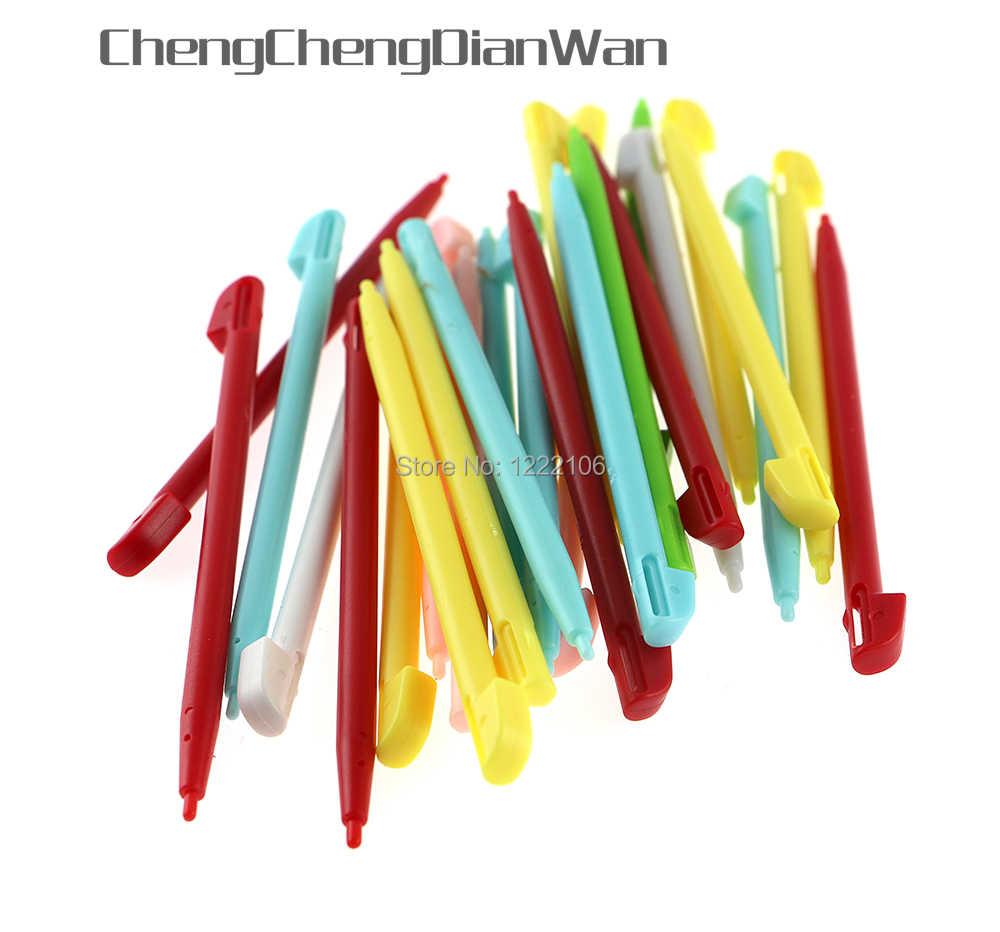 ChengChengDianWan 5 шт. стильная цветная сенсорная ручка Стилус для nintendo wii U консоль игровая