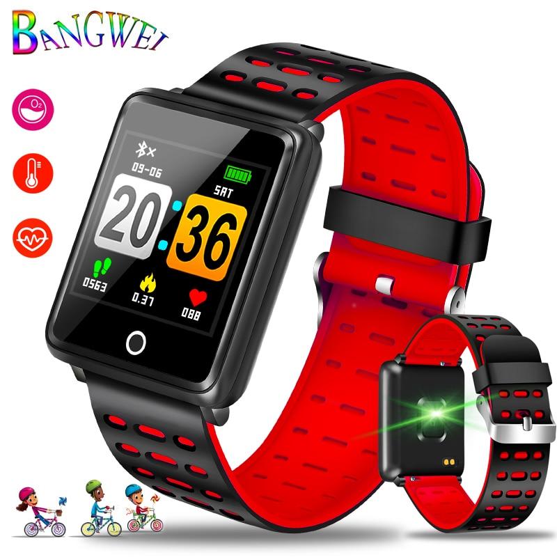 Montre intelligente OLED couleur grand écran hommes mode Fitness Tracker fréquence cardiaque pression artérielle oxygène Smartwatch Sport bracelet intelligent