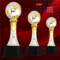 metal  trophy souvenirs Good quality  soccer Cup Trophy  good plating metal trophy cup  High 30cm football trophy