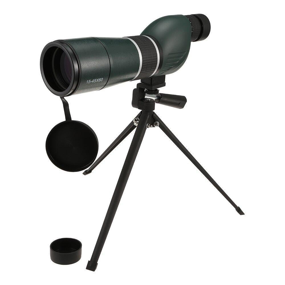 15 45X60 Monocular HD Telescope Optics Zoom for Wildlife Viewing