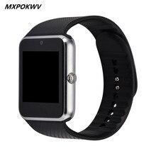 Смарт Часы GT08 Часы Поддержка Карты ПАМЯТИ И Sim-карты Носимых Bluetooth Часы для Андроид Телефон Smartwatch Часы GT08 ПРОТИВ DZ09 U8