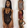 Mamelucos Para Mujer Del Mono Elegante Cuerpos Mono Mujer Sexy Bodycon Jumpsuit 2016 Playsuit Combinaison Cortos Femme Combinaison